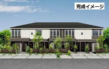 岡崎市丸山町 新築賃貸住宅外観写真