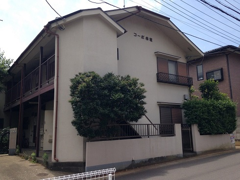 コーポ赤坂外観写真