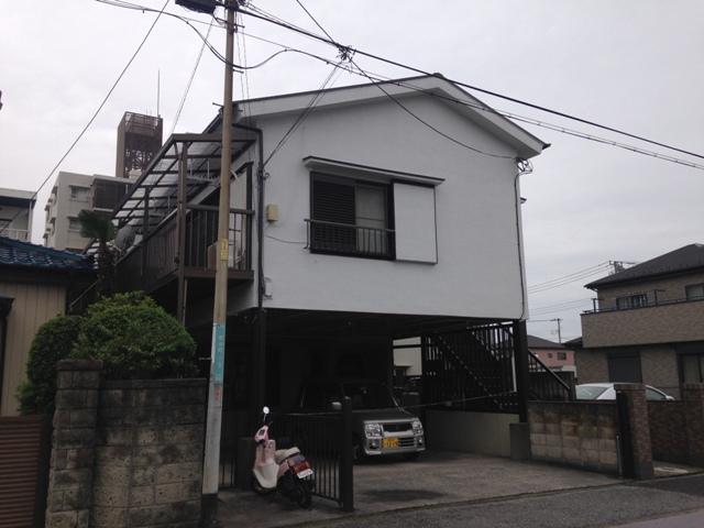 コーポAKANUMA外観写真