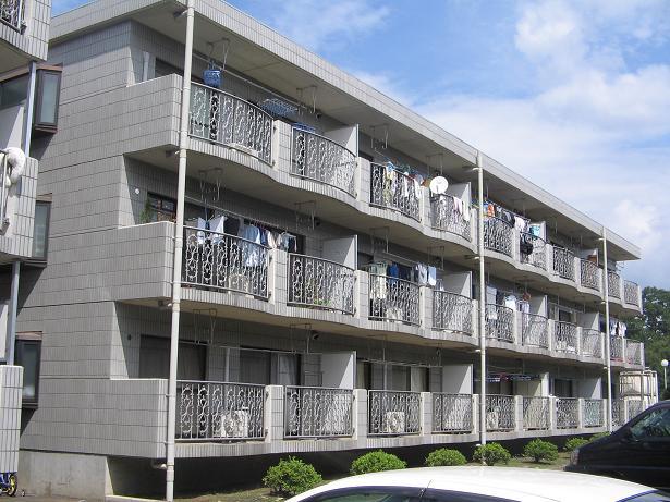 第七西砂川ハイツA棟外観写真