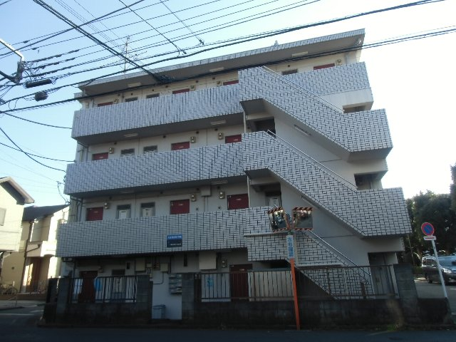 武蔵野マンション外観写真