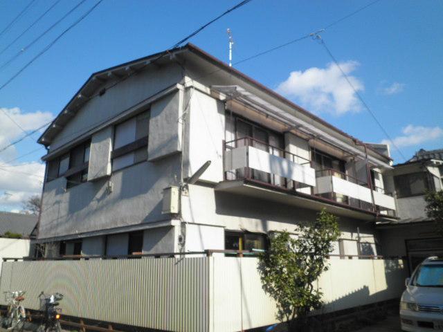 新興荘アパート外観写真