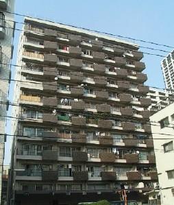 白金武蔵野マンション外観写真