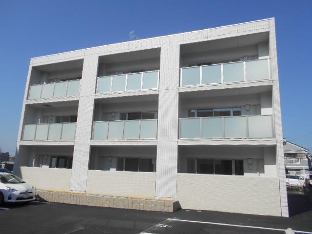 (新築)豊田市美山町マンション外観写真