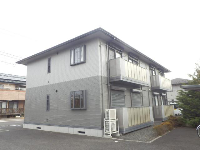 ソレジオタウン西川田C外観写真
