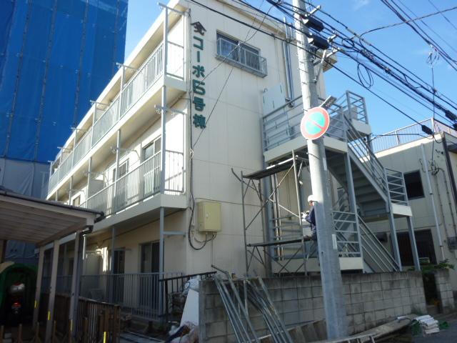 ヤマサイコーポ5号棟外観写真