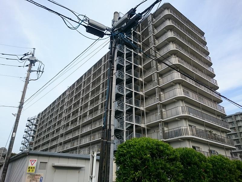 藤代スカイハイツB棟外観写真