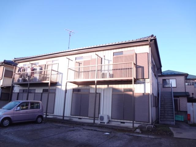 ハイツ増田2号棟外観写真