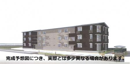 仮称)D-roomTVオッツ松ヶ崎外観写真