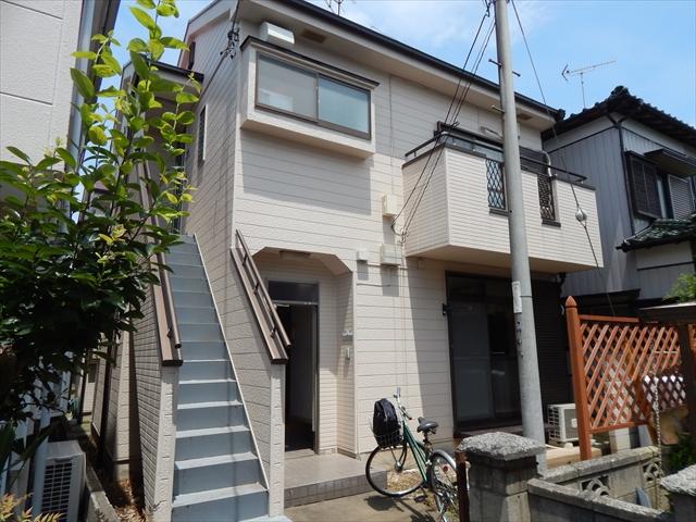 川村アパート外観写真