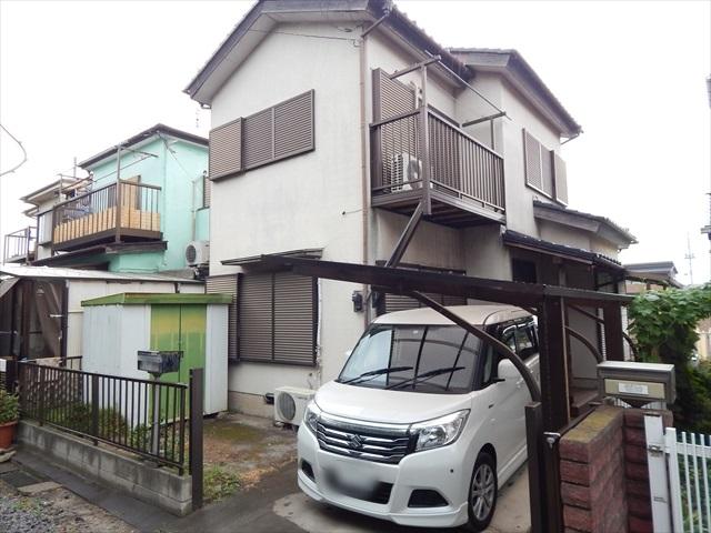 東武木間ケ瀬貸家Ⅱ外観写真