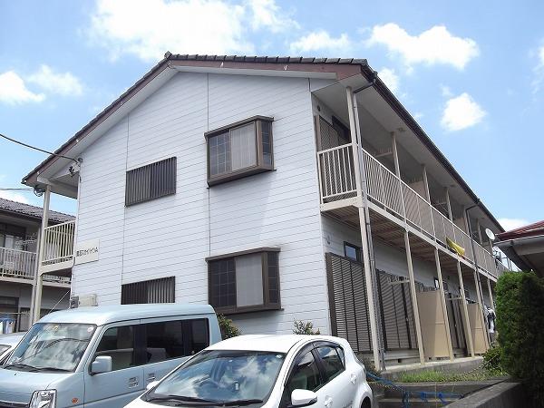 鷺沼スカイハイツA棟外観写真