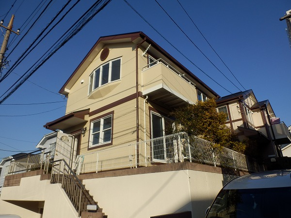荏田西戸建住宅外観写真