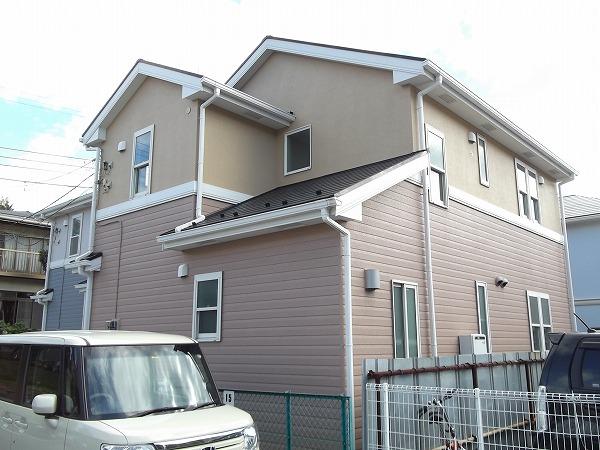 荏田町戸建住宅外観写真