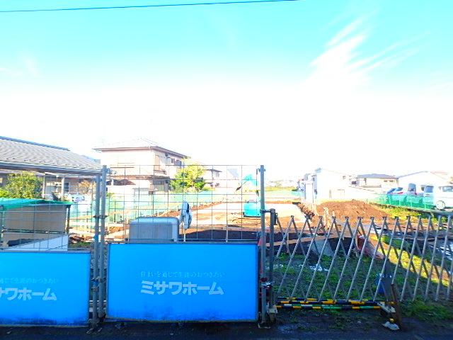 上山町新築テラスハウス外観写真