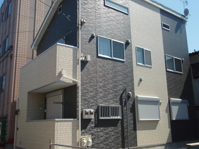宮田町アパート外観写真