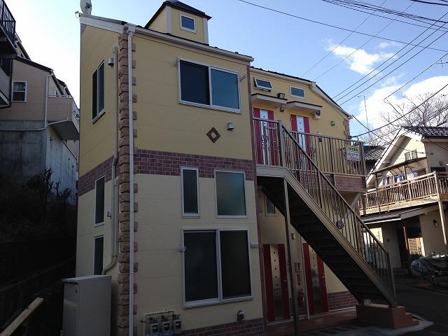 ユナイト横浜ブルージュの杜外観写真