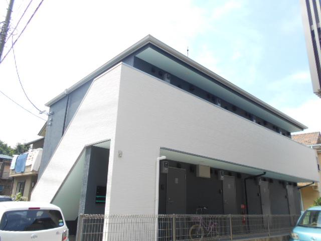 パークFLATS横浜白楽外観写真
