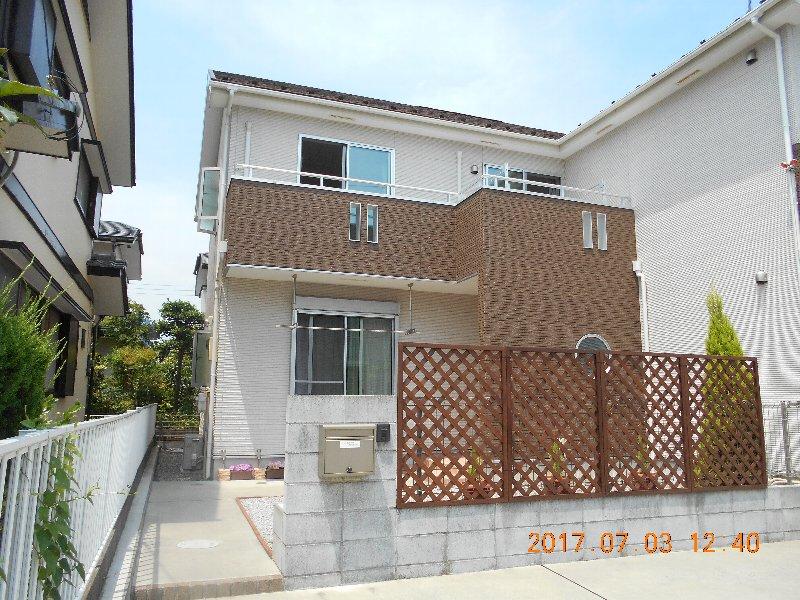 町田成瀬台テラスハウス外観写真
