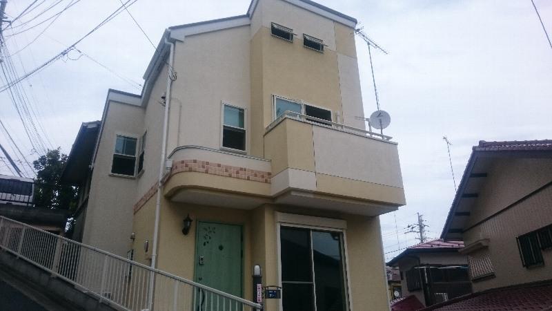 西成瀬戸建外観写真