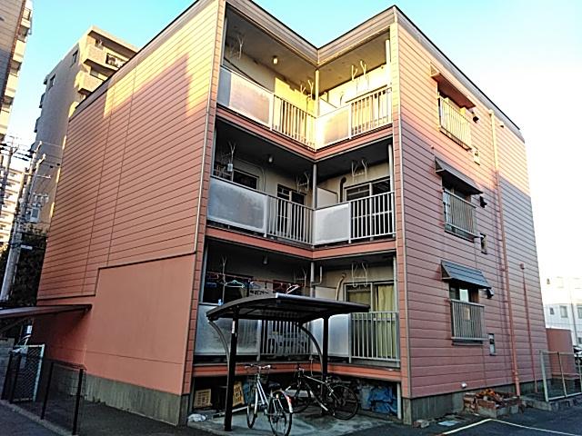 中津川ハイツⅡ外観写真