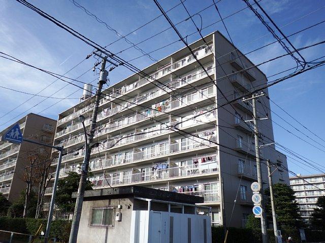 東千葉ハイツ1号棟外観写真