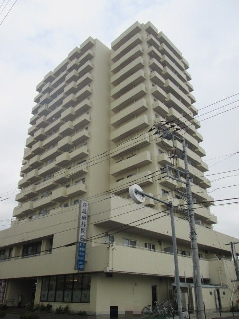 大あみハイツA棟外観写真