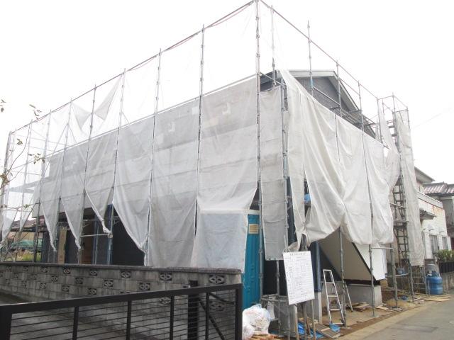 仮称)若葉区桜木北新築アパート外観写真