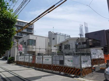 仮称)新田町プロジェクト新築工事外観写真