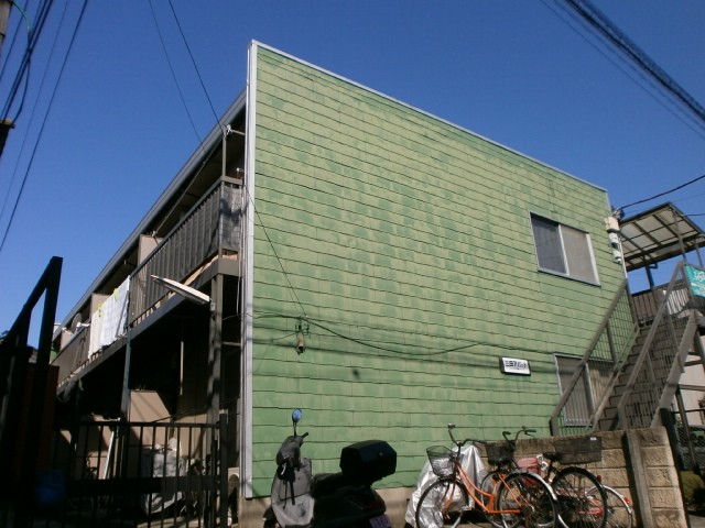 三田アパート外観写真