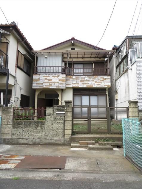 東本郷アパート外観写真