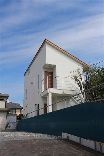 樫の木の家外観写真