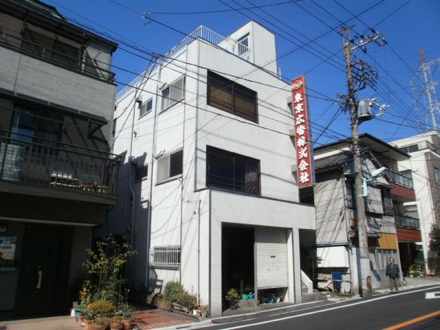 東京広告ビル外観写真
