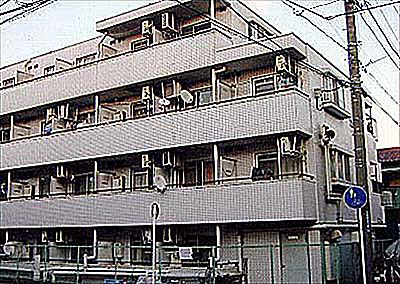 スカイコート川崎大師外観写真