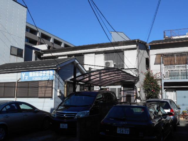 横井アパート外観写真