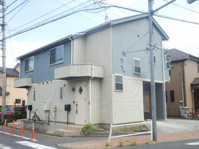 富士見台テラスハウス外観写真