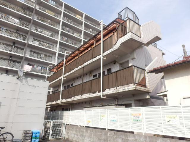 錦グリーンハイツ1号館外観写真