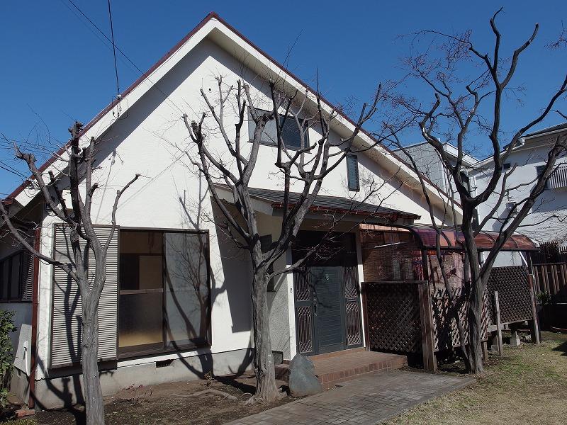 立川市高松町戸建て外観写真