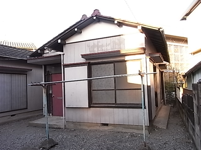 木村様平屋(東側)外観写真