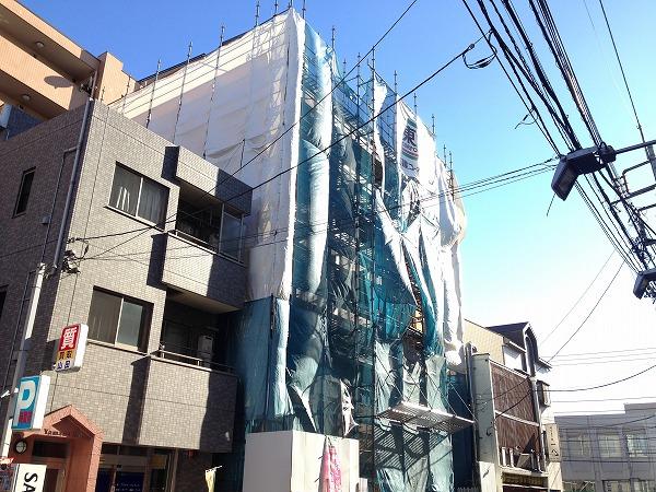 昭島市昭和町2丁目新築マンション外観写真