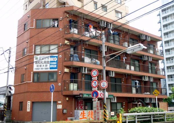 睦田マンション外観写真