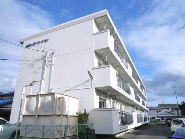 西田大坪マンション外観写真