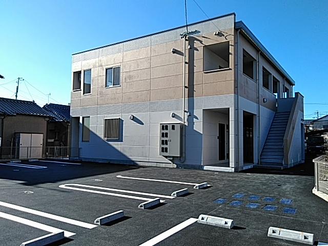 楠新田アパート外観写真