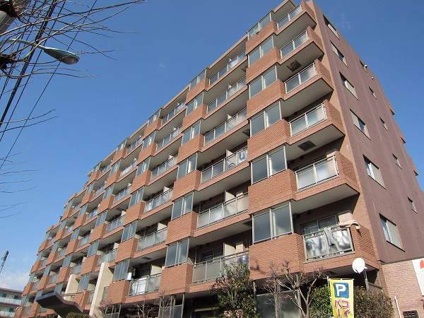 三ツ木富士見町マンション外観写真