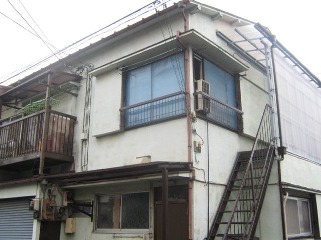 大島アパート外観写真