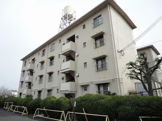 水戸田マンションA棟外観写真
