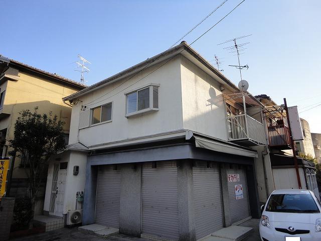 樫原蛸田町店舗付住宅外観写真