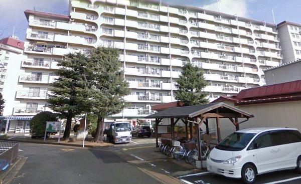 桂川ハイツ1号館外観写真