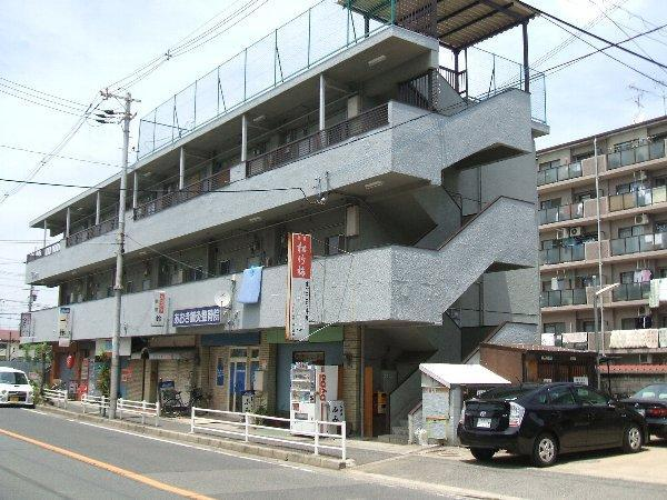 千萩マンションA棟外観写真