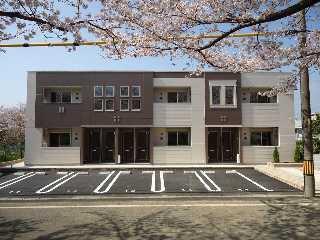 仮 蔵子新築アパート外観写真